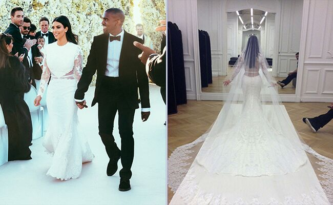 9 Celebs And Their Stunning Wedding Dresses The Lifestyle Magazine